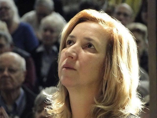 Marija Pavlovic durante l'apparizione
