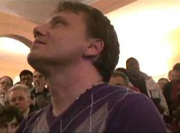 Jakov Colo durante l'apparizione